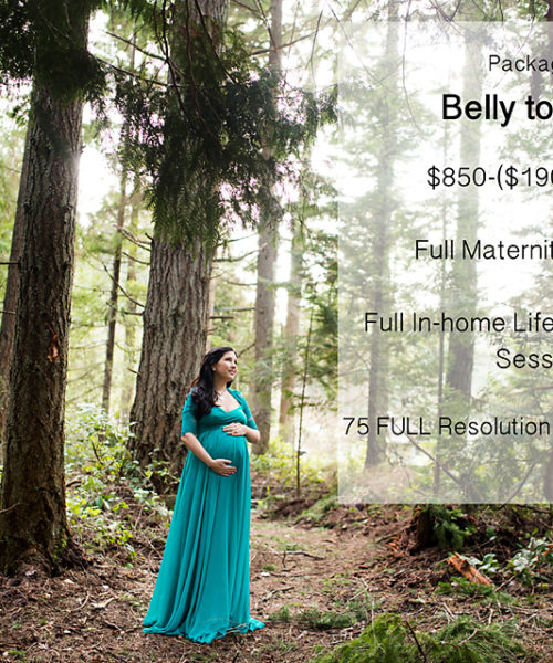 Seattle Maternity Photo Sale